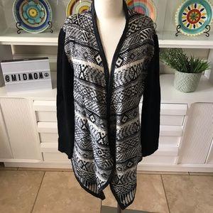 RD Style black Aztec cardigan